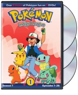 Pokemon: Indigo League- Season 1 Part 1 (DVD)