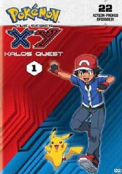 Pokemon The Series: XY Kalos Quest Set 1 (DVD)