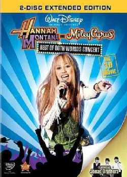 Hannah Montana And Miley Cyrus: Best Of Both Worlds 3D Concert Movie (DVD)