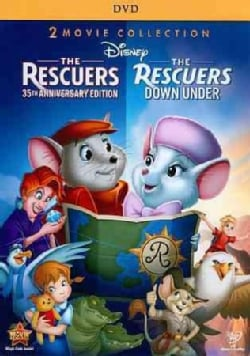 The Rescuers & Rescuers Down Under (35 Anniversary Edition) (DVD)