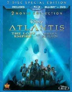 Atlantis: The Lost Empire/Atlantis: Milo's Return (Blu-ray/DVD)