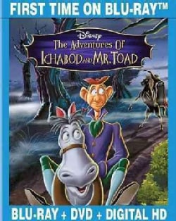 The Adventures Of Ichabod & Mr. Toad (Special Edition) (Blu-ray/DVD)