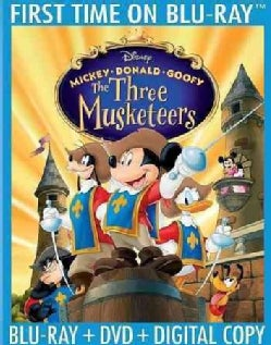 Mickey, Donald, Goofy: The Three Musketeers 10th Anniversary Edition (Blu-ray Disc)