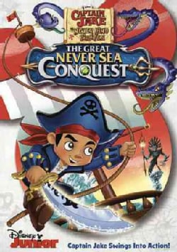Captain Jake and the Neverland Pirates: The Great Never Sea Conquest (DVD)