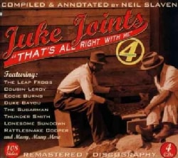 Various - Juke Joints 4: That's All Right with Me