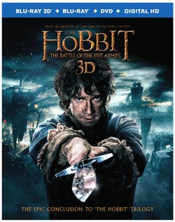 The Hobbit: The Battle of The Five Armies (3D) (Blu-ray/DVD)