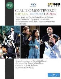 Kats-Chernin/Monteverdi: Odysseus/Orpheus/Poppea (Blu-ray Disc)