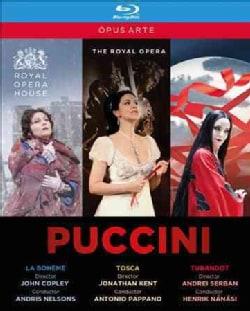 The Puccini Opera Collection (Blu-ray Disc)