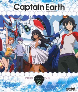 Captain Earth: Collection 2 (Blu-ray Disc)