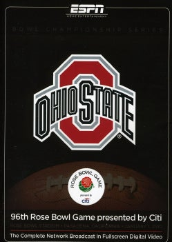 2010 Rose Bowl Game presented by Citi-Oregon Vs. Ohio State (DVD)