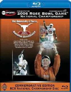 2006 ESPN Rose Bowl Game National Championship (Blu-ray Disc)