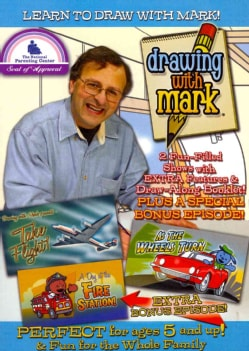 Drawing with Mark: Take Flight/As the Wheels Turn (DVD)