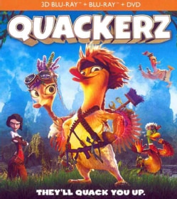 Quackerz 3D (Blu-ray Disc)