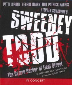 Sweeney Todd: The Demon Barber Of Fleet Street In Concert (Blu-ray Disc)