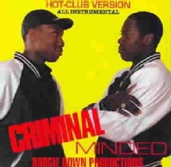 Boogie Down Productions - Criminal Minded: All Instrumental Hot Club Version