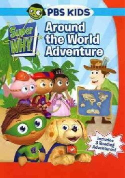 Super Why!: Around The World Adventure (DVD)