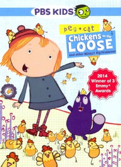 Peg + Cat: Chickens on the Loose, and Other Really Big Problems! (DVD)