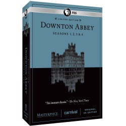 Masterpiece Classic: Downton Abbey: Seasons 1, 2, 3 & 4 (DVD)