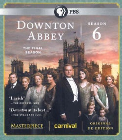 Downton Abbey: Season 6 (UK Edition) (Blu-ray Disc)