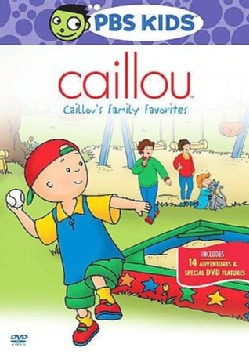Caillou's Family Favorites (DVD)