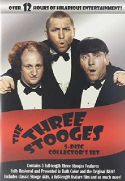 Ultimate Three Stooges Collection: 5-Disc Collector's Set (DVD)