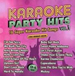 Karaoke Cloud - Karaoke Party Hits Vol. 1