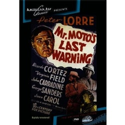 Mr. Moto's Last Warning (DVD)