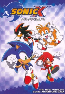 Sonic X: Complete Seasons 1 and 2 (DVD)