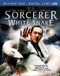 The Sorcerer and the White Snake (Blu-ray/DVD)