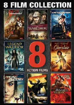 Action 8 Film Collection (DVD)