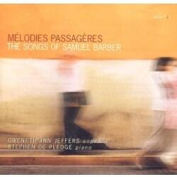 Stephen De Pledge - Barber: Melodies Passageres