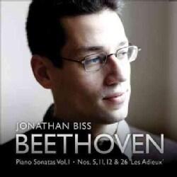 Jonathan Biss - Beethoven: Piano Sonatas Nos. 5, 11, 12 & 26: Piano Sonatas Vol. 1