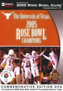 2005 Rose Bowl: Texas Vs. Michigan (DVD)