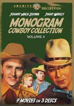 The Monogram Cowboy Collection Volume 4 (DVD)