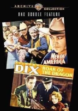 Men Of America/Roar Of The Dragon RKO Double Feature (DVD)