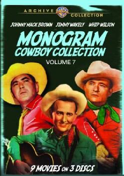 Monogram Cowboy Collection Vol. 7 (DVD)