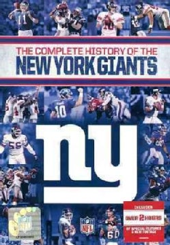 The Complete History Of The New York Giants (DVD)