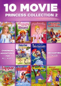 10  Movie Princess Collection 2 (DVD)