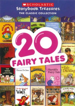 20 Fairy Tales Scholastic Storybook Treasures: The Classic Collection (DVD)