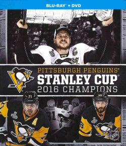Pittsburgh Penguins Stanley Cup 2016 Champions (Blu-ray/DVD)