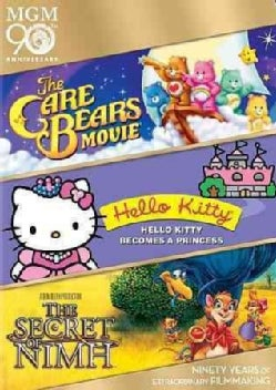The Care Bears Movie/Hello Kitty Becomes A Princess/The Secret Of NIMH (DVD)