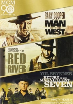Man Of The West/Red Reiver/Return Of The Magnificent Seven (DVD)