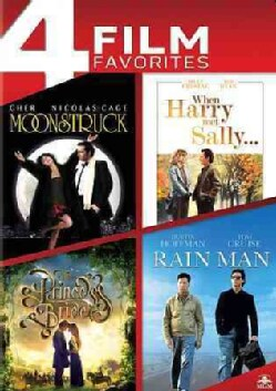 Moonstruck/When Harry Met Sally/The Princess Bride/Rain Man (DVD)