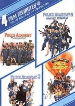 4 Film Favorites: Police Academy 1-4 (DVD)