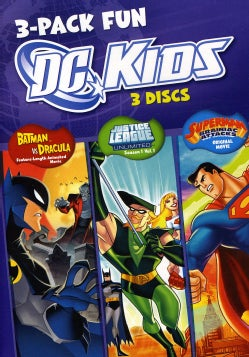 DC Kids 3-Pack Fun (DVD)