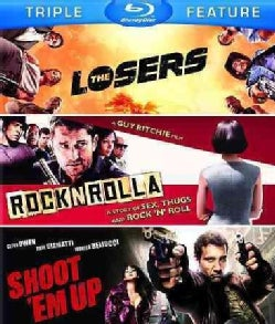 Losers/Rocknrolla/Shoot 'Em Up (Blu-ray Disc)