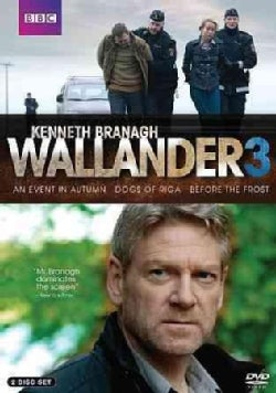 Wallander: An Event In Autumn/The Dogs of Riga/Before the Frost (DVD)