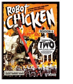 Robot Chicken: Season Six (DVD)