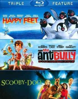 Happy Feet/The Ant Bully/Scooby-Doo: The Movie (Blu-ray Disc)