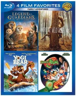 4 Film Favorites: Family Adventures (Blu-ray Disc)